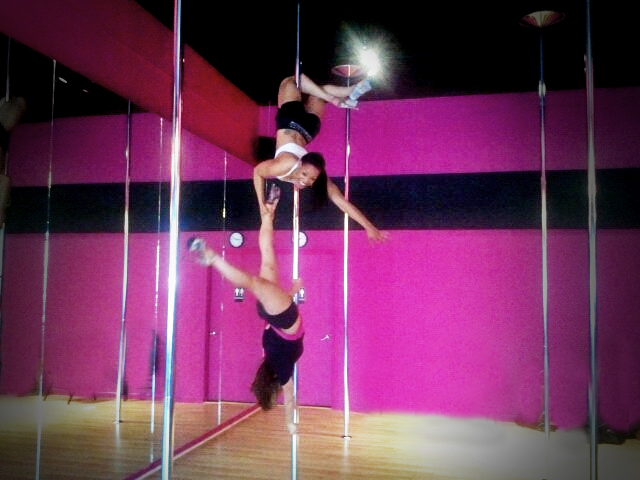 spin sity oakley pole fitness dancers